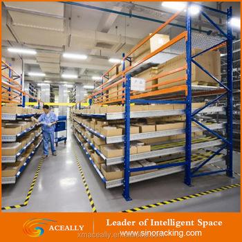 warehouse racking raw material storage rack gravity flow rack & Warehouse Racking Raw Material Storage Rack Gravity Flow Rack - Buy ...