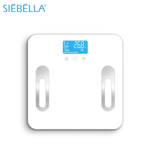 Unique electronic digital smart bluetooth Body Fat weighing bathroom scale