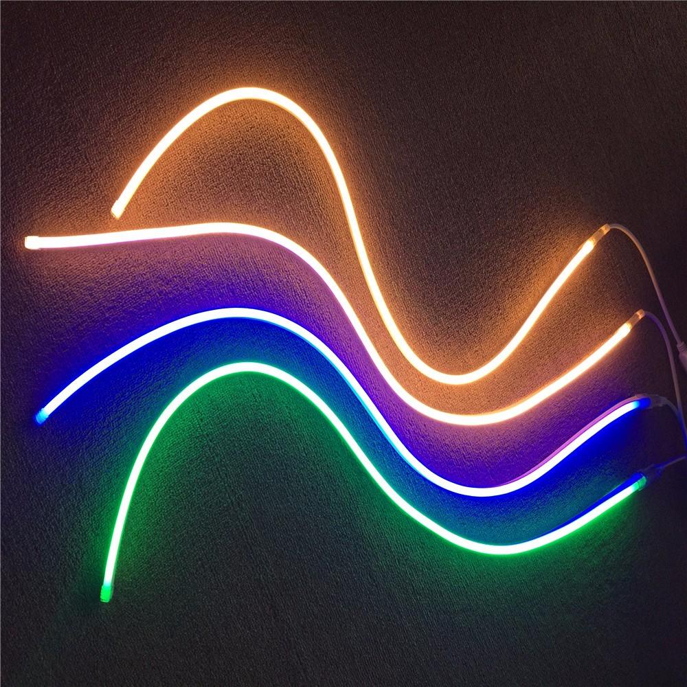 Outdoor Led Rope Lighting 110 220v 360 Degree Round Neon Flex Ip 68 Flexible Light