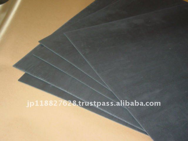 Sound isolation rubber sheet for cars