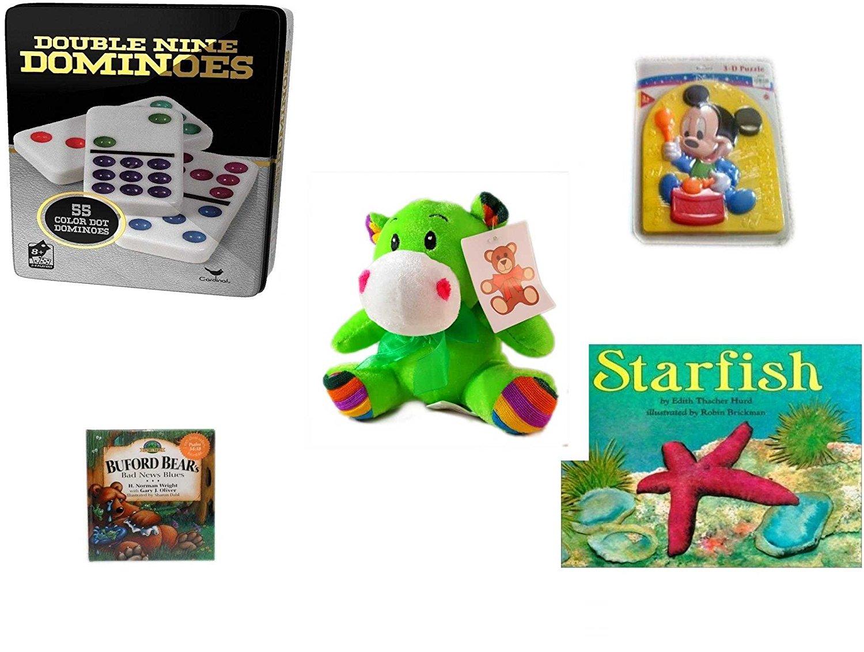 Buy Childrens Gift Bundle - Ages 3-5 [5 Piece] - Double 9 Color Dot ...