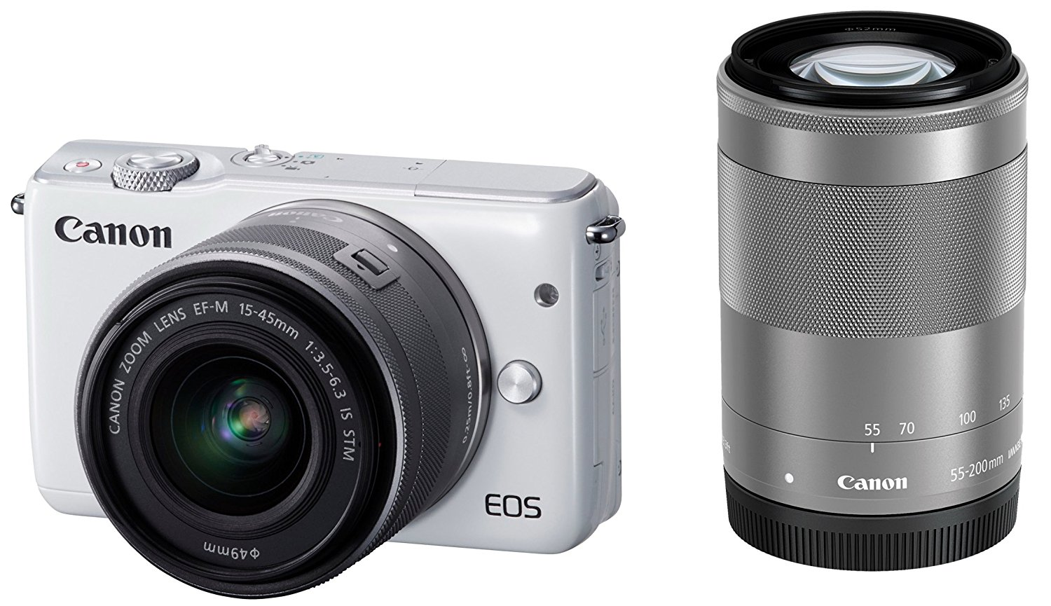 Cheap Ef White Find Deals On Line At Alibabacom Canon Eos M10 M 15 45mm Is Stm Get Quotations Mirrorless Slr Double Zoom Kit M15 F3