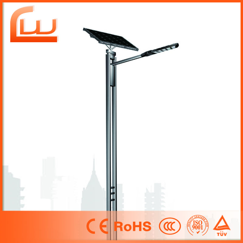 50w auto protection glass halogen street solar led lamp