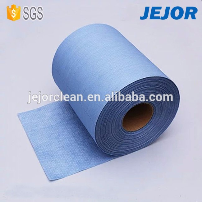 Woodpulp PP X80 Nonwoven Absorbent Industrial Wipes Spunlace &ampcrosshatch pattern