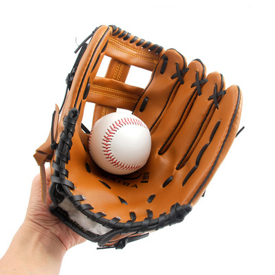 Hot Selling Baseball Game PU Lederen Custom Goedkope Honkbal Handschoenen