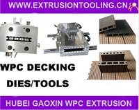 150X25mm WPC Hollow Decking Extrusion Tools