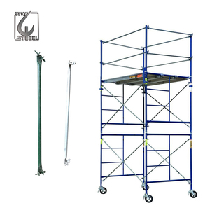Mobile Scaffolding System/European Standard Construction Ringlock System Lahyer Scaffolding For Sale