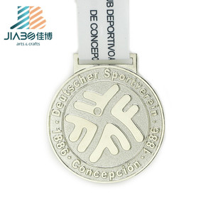 gold and silver wholesale custom military running award medal