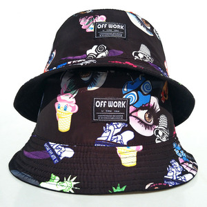 Stock High Quality Fashion Reversible Bucket Hat