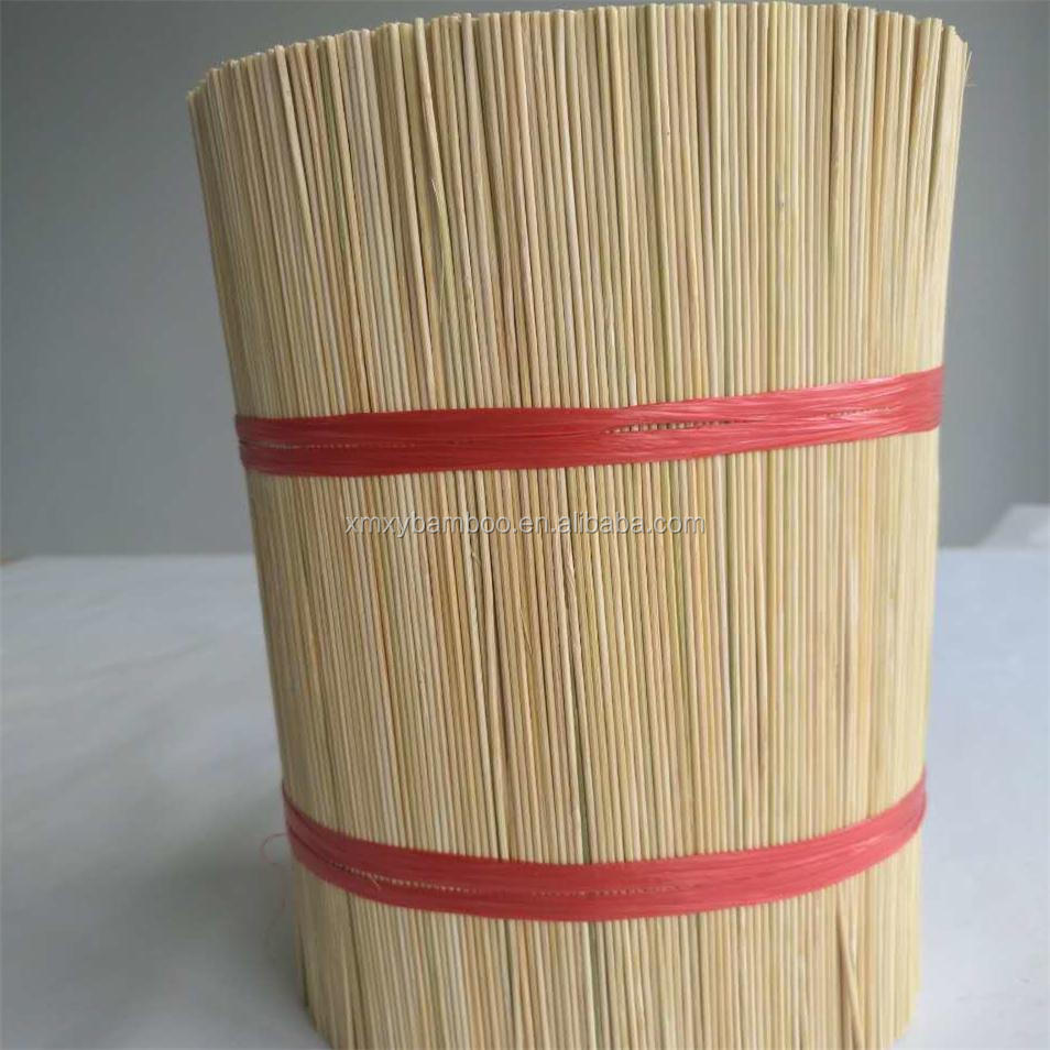 2017 raw bamboo material round cheap bamboo sticks agarbatti for making Indian incense(wechat:+8618359086979)