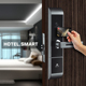 Hotest Type RF card hotel lock, Original Smart tech, Door handle lock safe