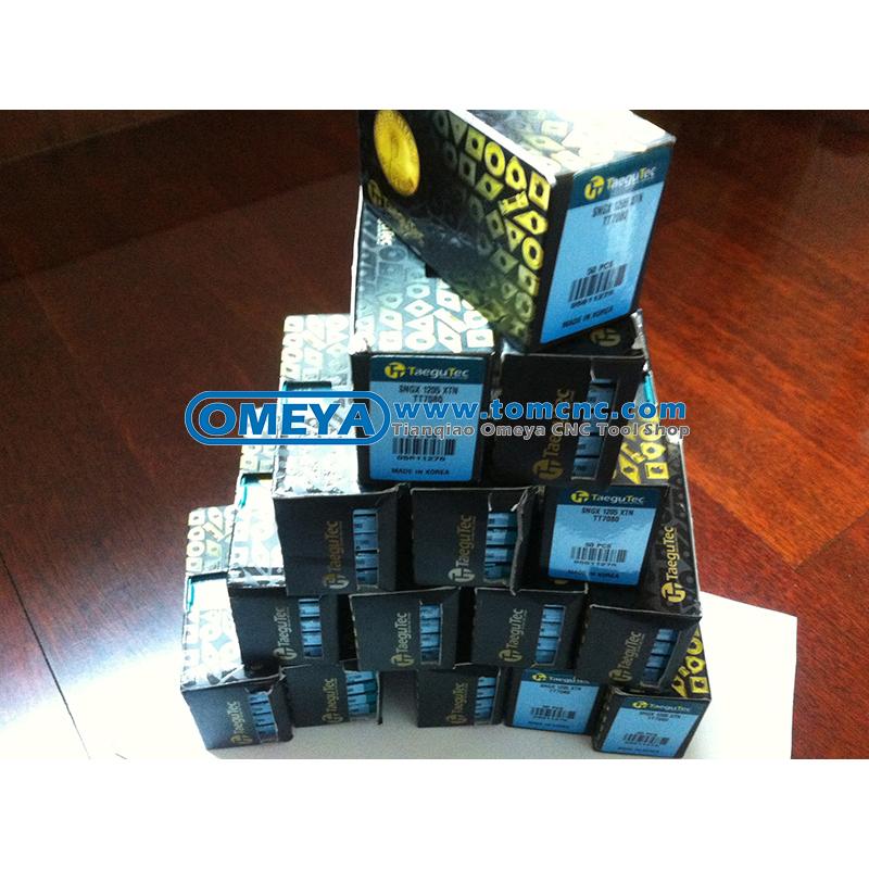SNMX 1306 XTN TT8080 Carbide inserts TAEGUTEC 10 Pcs//Pack