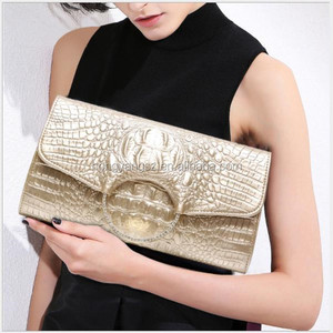 Caw leather women lady formal party sexy club clutch bags factory wholesale B1151