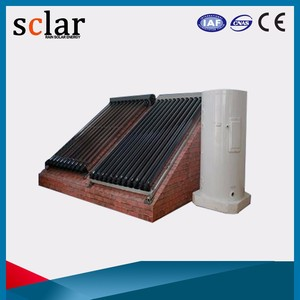 Superb Heat Pipe Closed Loop Seperate Pressurized For Germany Solar Water Heater