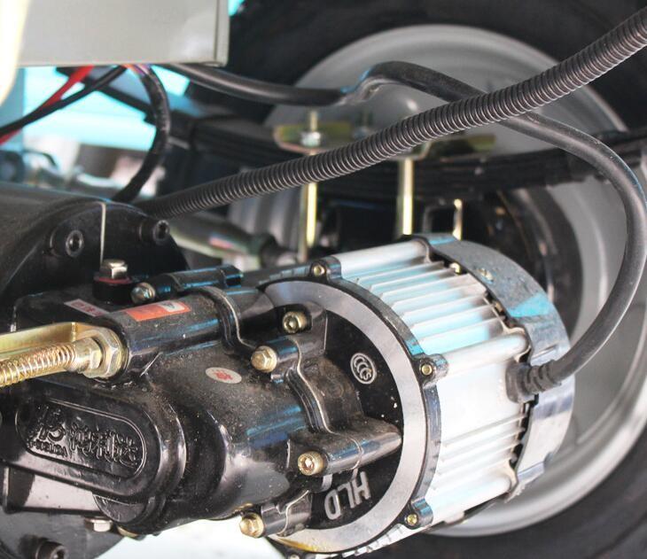 triciclo elettrico coperto 800 watt motore elettrico scooter