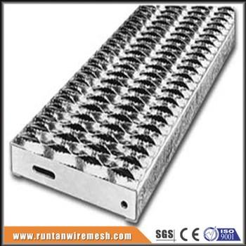 Galvanized Diamond Anti Skid Perforated Steel Grating
