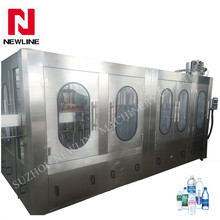 Automatic water filling machine pure water production line
