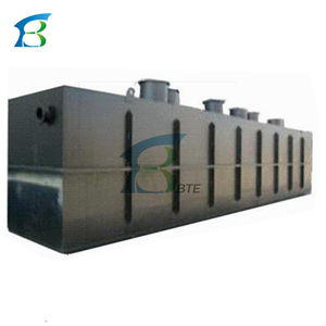 High Quality Underground Industrial Organic Sewage Tank / Industrial Organic Waste Water Treatment Plant