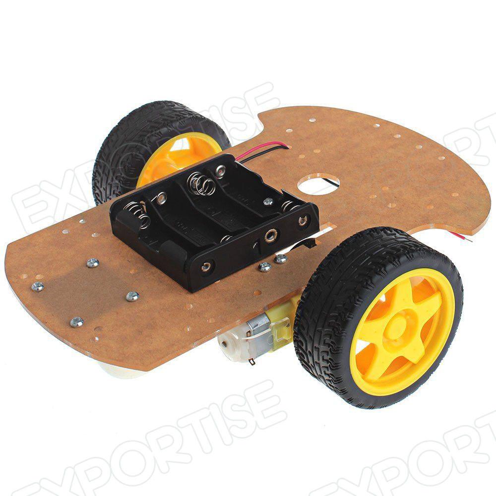 Diy Motor Smart Robot Car Chassis Kit Speed Encoder Battery Box,2wd Smart  Robot Chassis Kit - Buy Motor Robot Car Kit For Arduino,Motor Kit For