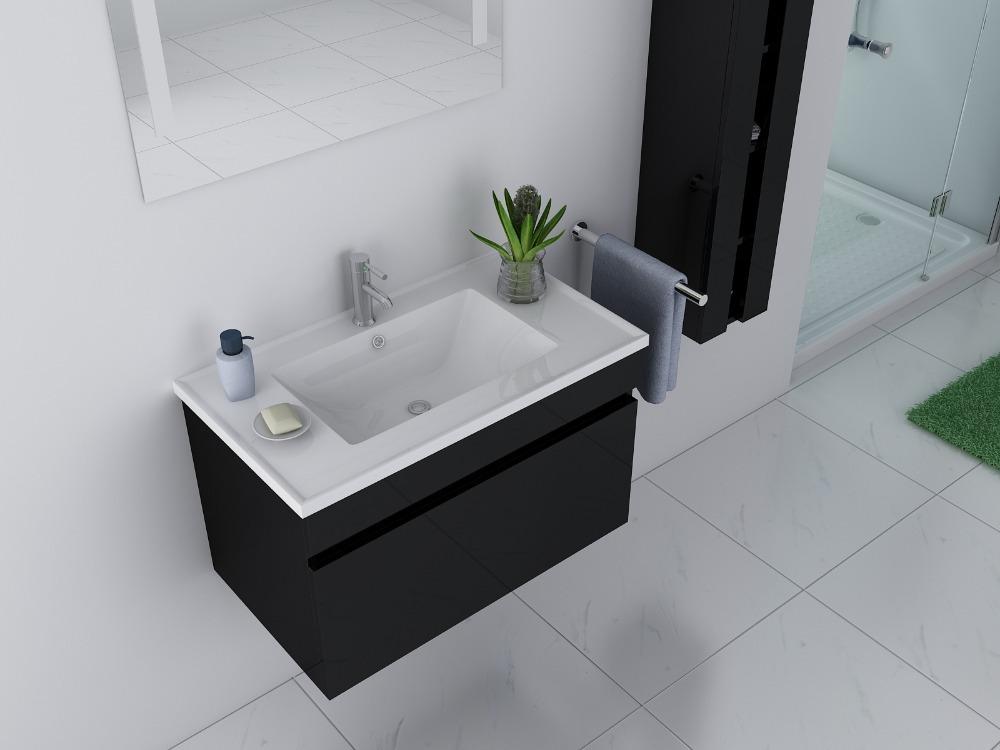 Eigentijdse badkamer design modern voorbeelden voor het indelen van een kleine badkamer - Eigentijdse designkast ...