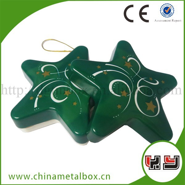 Green Star Shape Chocolate Box Candy Box Pen Gift Box