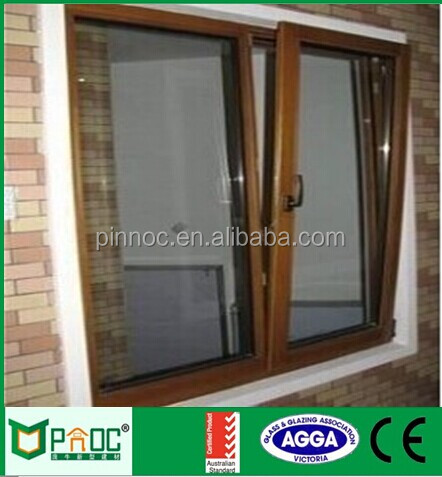 Australian standard double glazed opening design aluminium tilt and turn windows for modular home