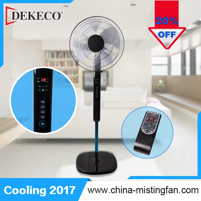 outdoor 16 Inch Pedestal Oscillating Fan air cooler without water