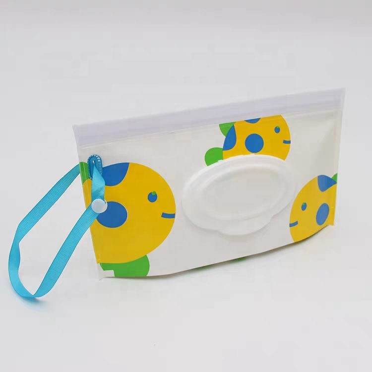 Wholesale Fancy Eva Eco Friendly Baby Portable Wet Wipes Bags