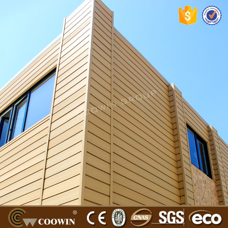 modern low cost durable wood plstic composite ranch wall siding