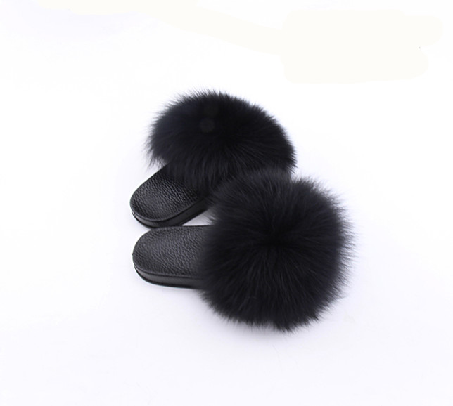 Wholesale Fashion lady fur <strong>slippers</strong>