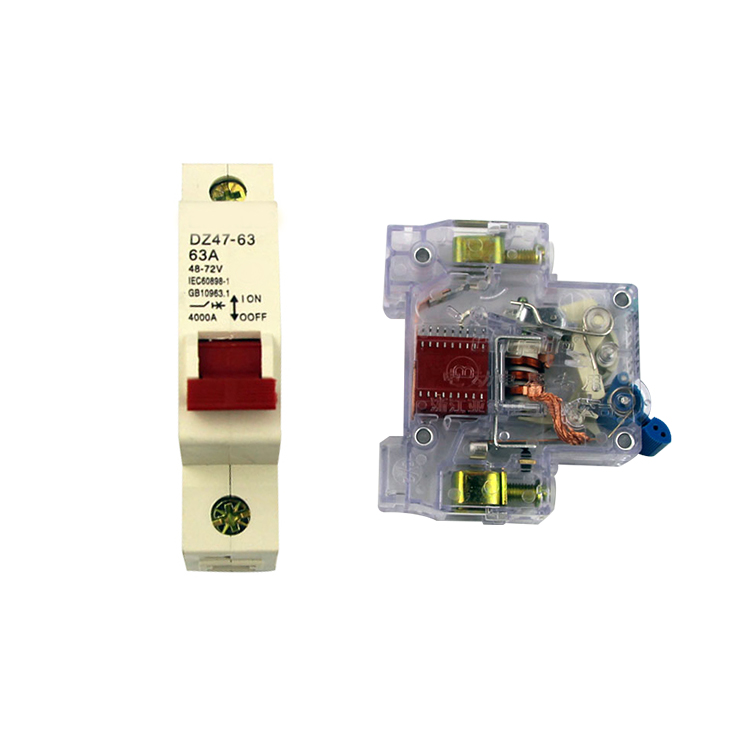 Electronic component dashboard electric car circuit breaker