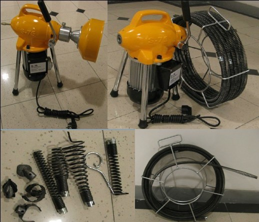 cable cleaning machine