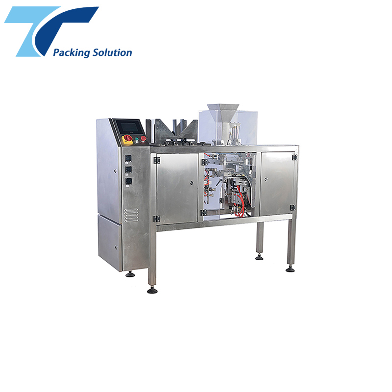 Foshan Filling Weighing Bag-Given Shampoo Sachet Doypack Automatic Packing Machine