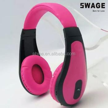 Ph B8550 On Ear Stereo Bluetooth Headphones Kid Earphones For School