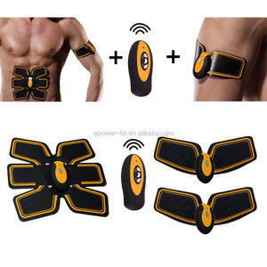 EMS Training Body Shape Fit Set ABS Six Pad Electrical Muscle Stimulation