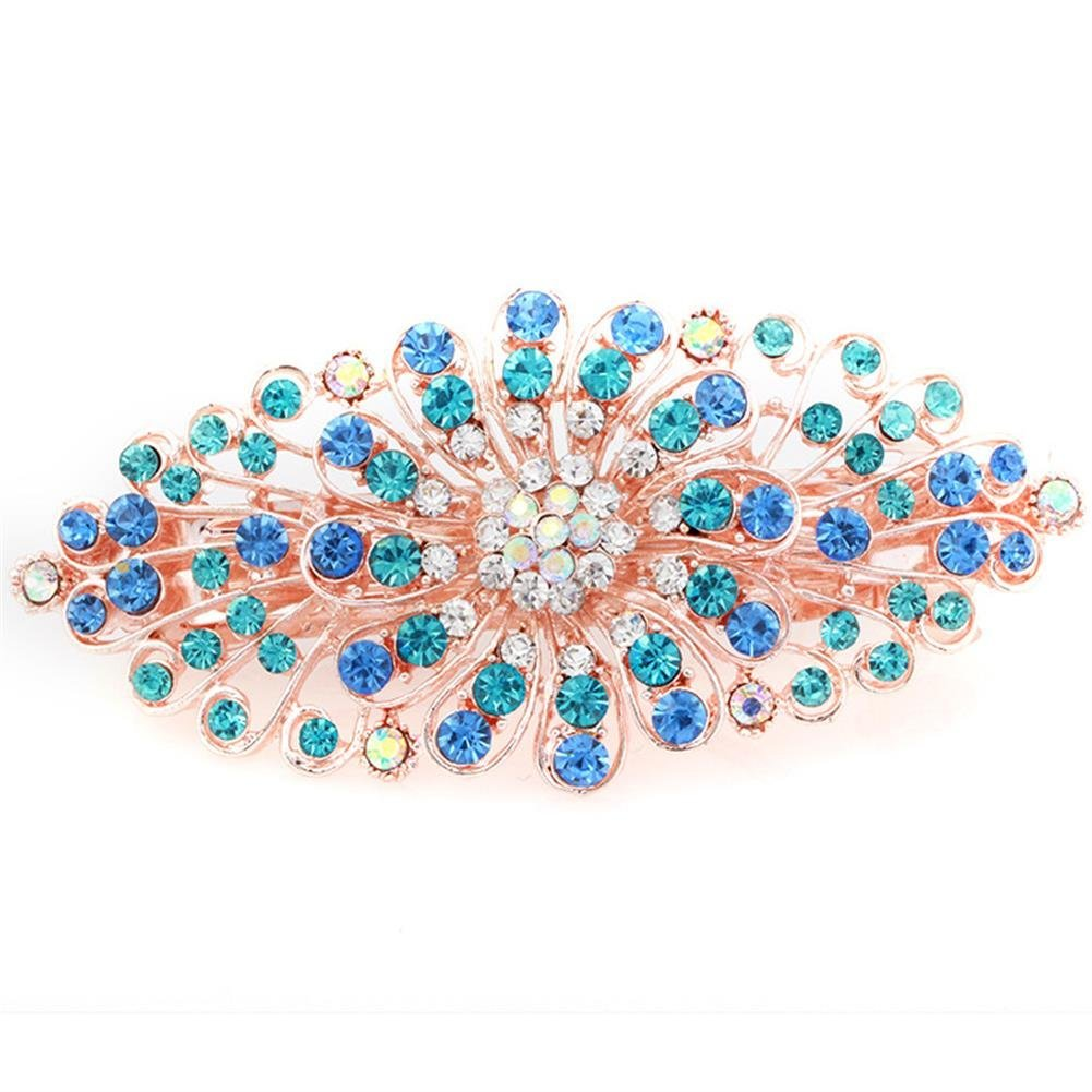 Cheap Wedding Accesories Find Deals On Line At Get Quotations Womens Bridal Jewelry Crystal Rhinestones Decor Flower Style Hair Clip Pin Beauty