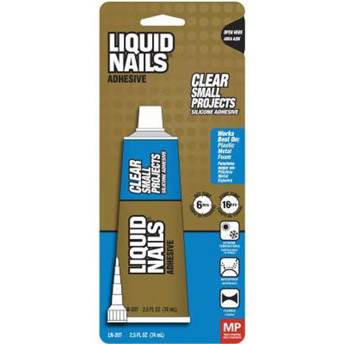 Liquid Nails LN207 All Purpose 2.5-Ounce Adhesive