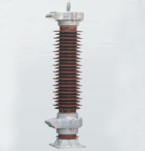 33kV High voltage metal oxide Porcelain Lightning arrester with KEMA