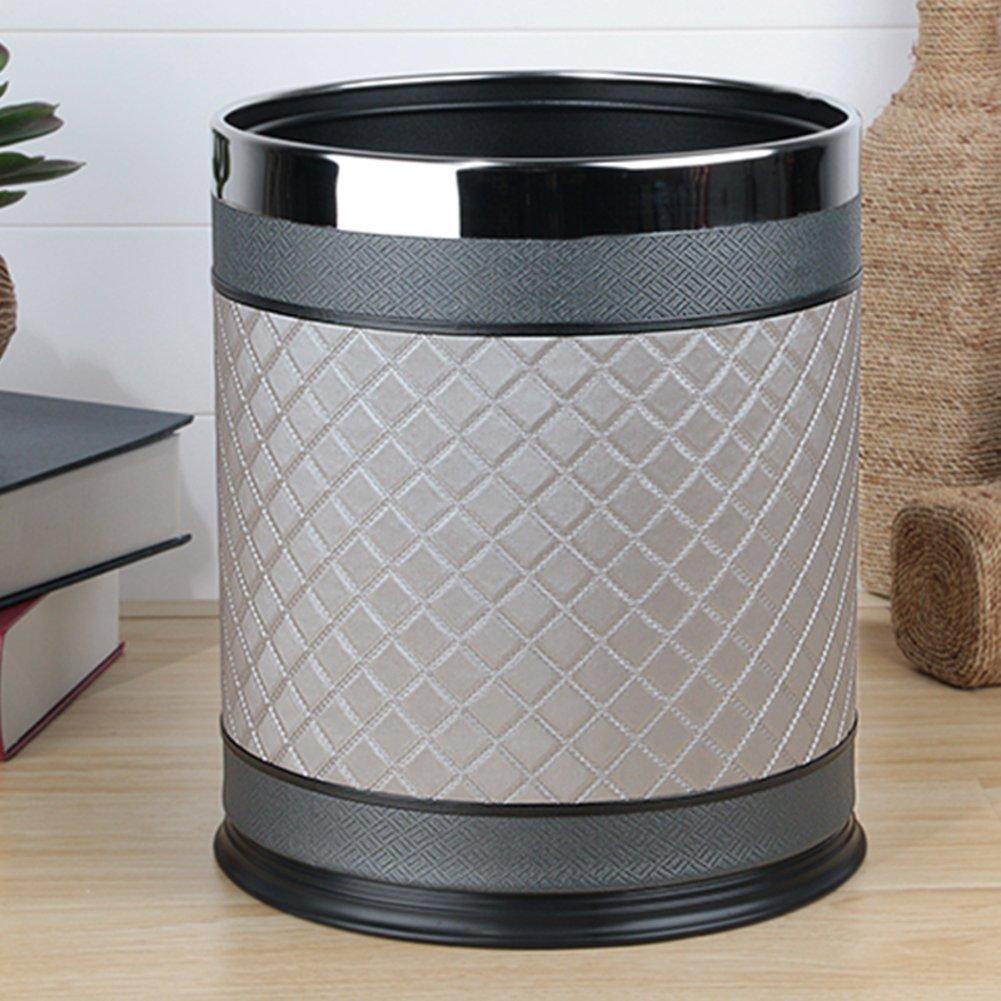 European-style household living room trash can/Kitchen bathroom trash/Creative simplicity trash-U