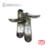 Hot sale stainless steel residential interior solid lever high quality plate door handle