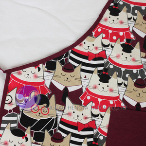 wholesale custom printed cotton kids apron