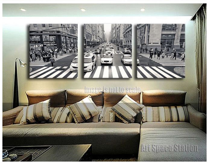 Aliexpress.com : Buy 3 Pieces New York City Street View ...