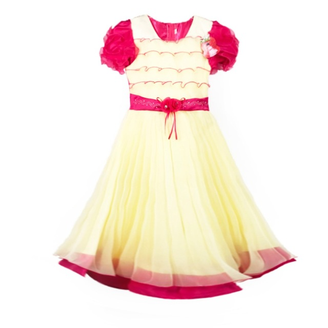 849 Rose Red Yiwu Haolaiyuan Good quality flower girl tulle dress