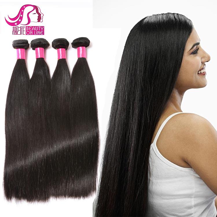 8a Grade Brazilian Knot Human Hair 8 Inch Hair Weaving Remy