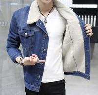 zm52926a 2016 mens fur jacket white fully collar short denim coat