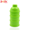 Baby Milk Powder Dispenser 4 Doses of Baby Formula Storage Snack Pot Container