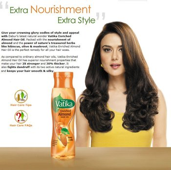 Vatika Almond Oil For Natural Hair