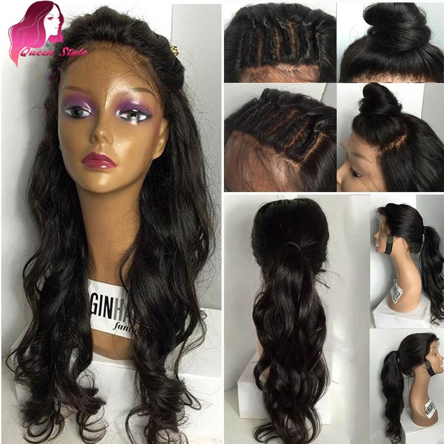 Full Lace Human Hair Wigs For Black Women Brazilian