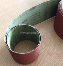 hot selling aluminium oxide abrasive belt gxk51 for machine use
