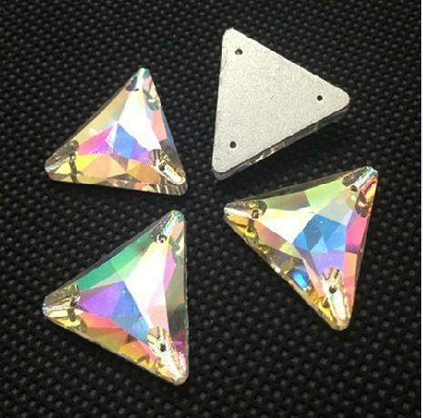 phantasie 16mm dreiecksform n hen strass crystal ab farbe n hen zubeh r steine f r kleid machen. Black Bedroom Furniture Sets. Home Design Ideas